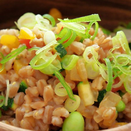 Farro Fried Rice